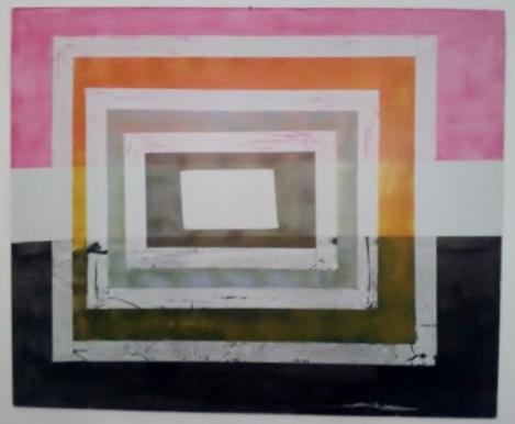 Besos y amores. Acrilico sobre cartón pluma. 100x100. 2009