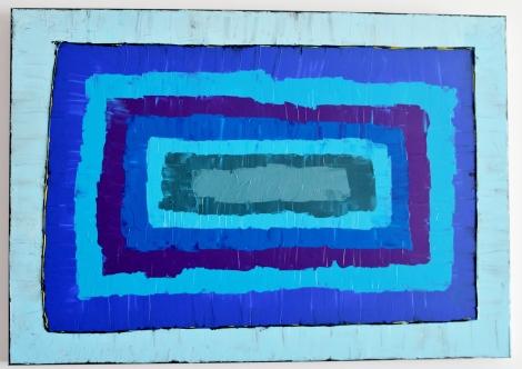 Aire. Acrílico sobre lienzo. 100x80. 2012