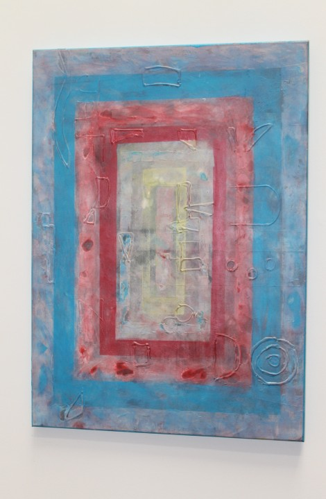 Estancias Vitales. Acrílico sobre lienzo. 70x50. 2013