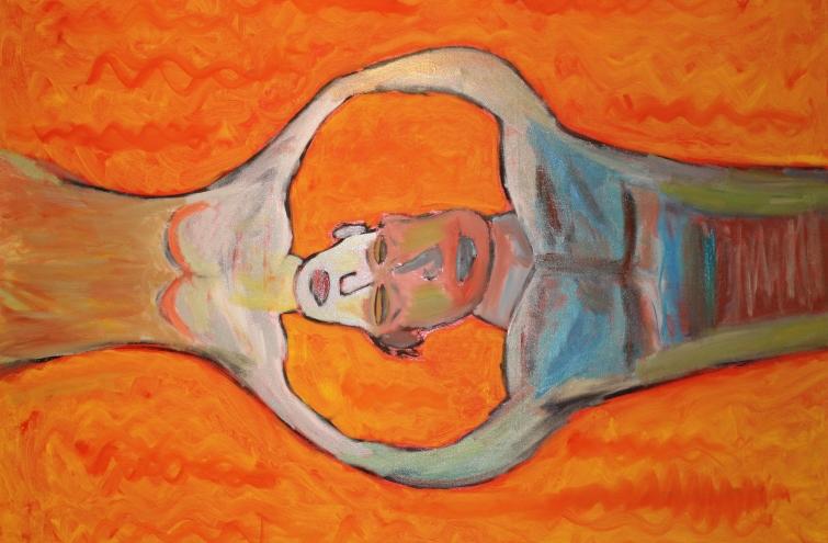Sinergia. Óleo sobre lienzo. 115x80. 2013