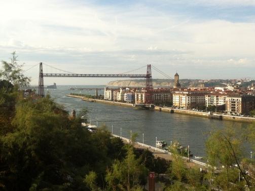 Portugalete desde el mirador de Azeta