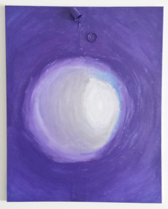 Confín y albedrío. Acrílico sobre lienzo. 70x50cm. 2014